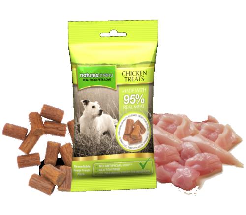 Natures Menu Myke Godbiter Kylling, Stort Utvalg Treningsgodbiter til Hund