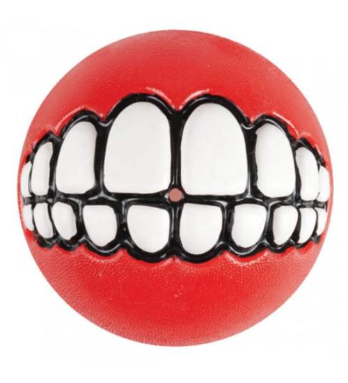 Rogz Grinz Smileball Rød, Stort utvalg lekeballer til Hund
