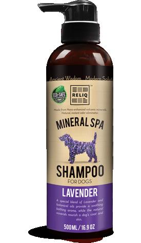 Reliq Mineral Shampo, Pleieprodukter til Hund