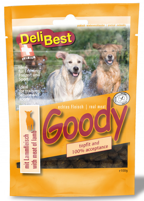 DeliBest Belønningsgodbiter Lam, Stort Utvalg Treningsgodbiter til Hund