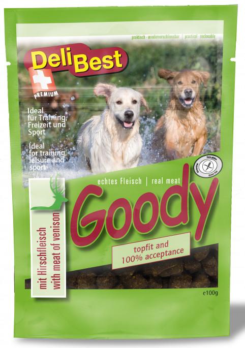 DeliBest Belønningsgodbiter Hjort, Stort Utvalg Treningsgodbiter til Hund