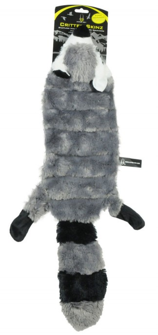 Hyper Pet Critter Skinz Vaskebjørn, Stort utvalg forskjellige kosedyrleker til hund