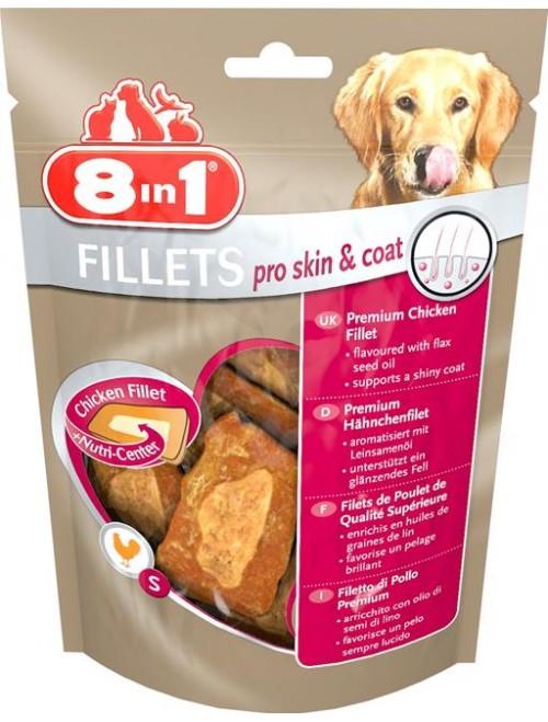 8in1 Kyllingfilet Pro Skin & Coat, Stort utvalg Godbiter og Snacks til Hunder