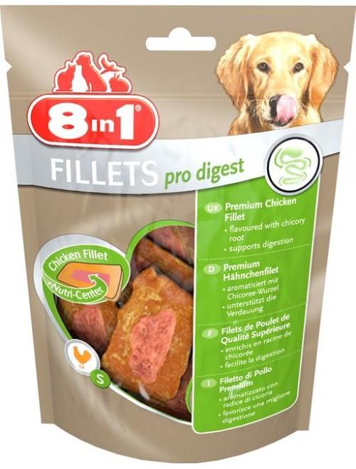 8in1 Kyllingfilet Pro Digest, Stort utvalg Godbiter og Snacks til Hunder