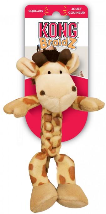 KONG Braidz Giraff, Stort utvalg forskjellige kosedyrleker til hund