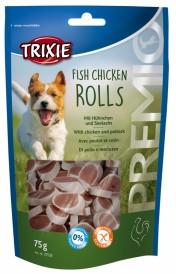 Trixie Runde Godbiter av Kylling og Sei