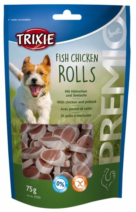 Trixie Runde Godbiter av Kylling og Sei, Stort utvalg Godbiter og Snacks til Hunder