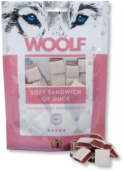 Woolf Firkanter av And og Torsk, Stort utvalg Godbiter og Snacks til Hunder