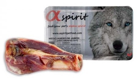 Alpha Spirit Half Ham Bone, Naturtygg 100% rent