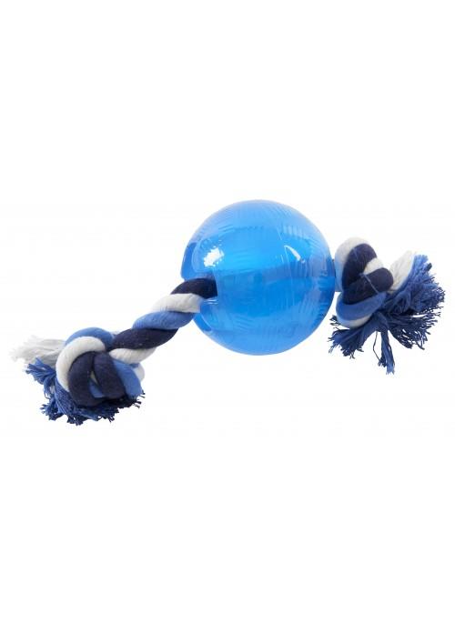 Buster Strong Ball med Tau, Tauleker og Draleker til Hund