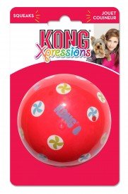 KONG Xpressions Ball, Rød