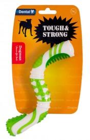 Dogman Tough & Strong Gummileke, Hvit og Grønn