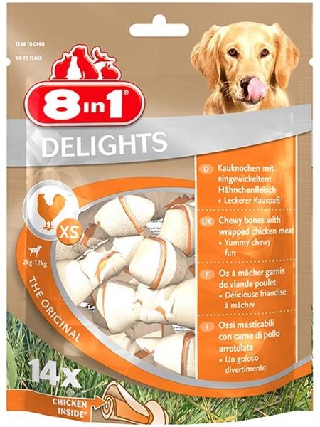 8in1 Tyggeben med Kylling, Tyggeben og Annen Tygg til Hund