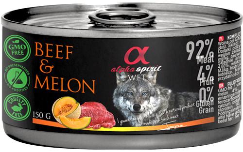 Alpha Spirit Biff & Melon Våtfôr,