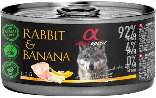Alpha Spirit Kanin & Banan Våtfór,