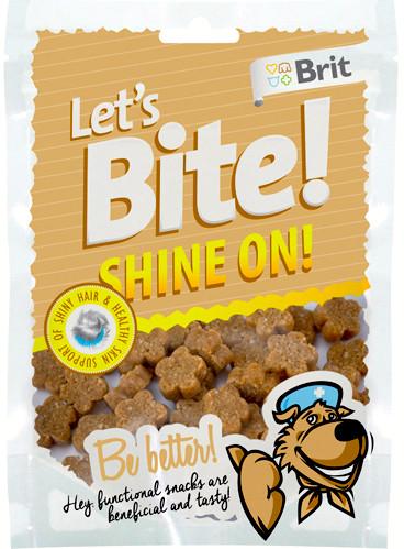 Brit Let´s Bite! Shine On Treningsgodbiter, Stort Utvalg Treningsgodbiter til Hund