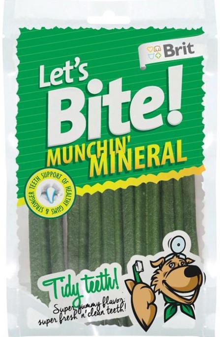Brit Let´s Bite! Munchin' Mineral, Stort utvalg Godbiter og Snacks til Hunder