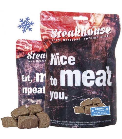 MeatLove Steakhouse Steakhouse Viltkjøtt, Stort Utvalg Treningsgodbiter til Hund