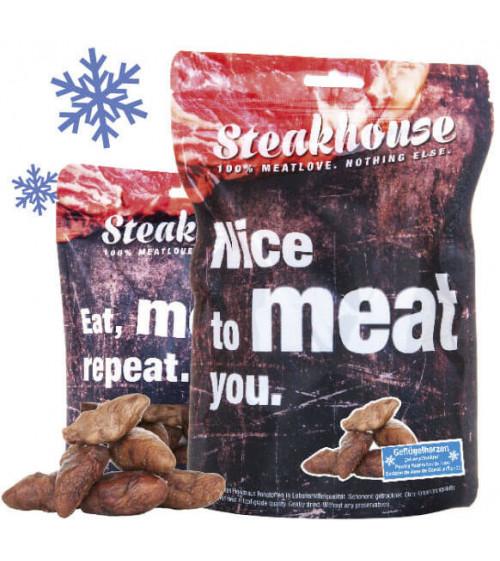 MeatLove Steakhouse Steakhouse Kyllinghjerter, Stort utvalg Godbiter og Snacks til Hunder
