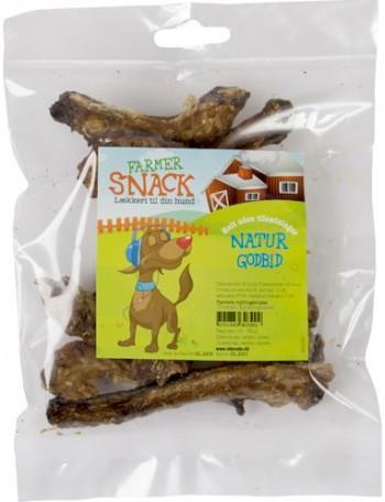 Farmer Snack Natur Kyllinghals, Naturtygg 100% rent