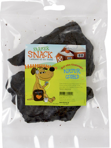 Farmer Snack Natur Okselever, Naturtygg 100% rent