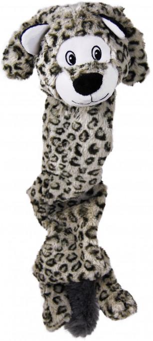 KONG Stretchezz Jumbo Snøleopard, Stort utvalg forskjellige kosedyrleker til hund