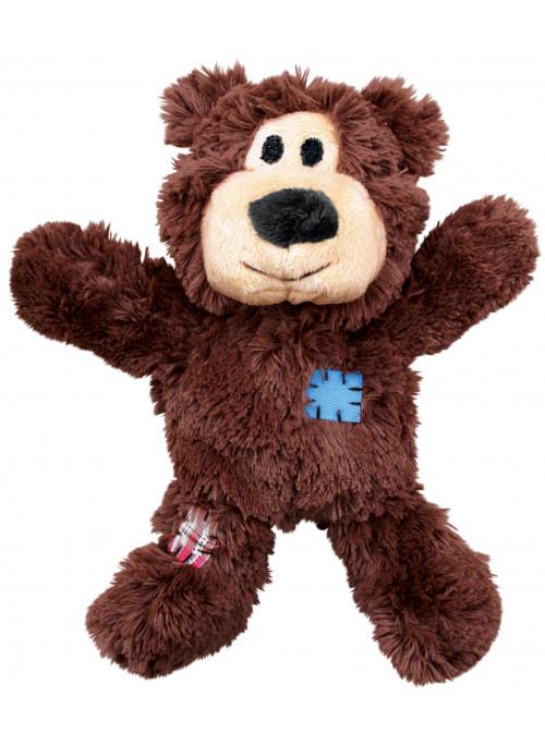 KONG Wild Knots Bjørn, Mørkebrun, Stort utvalg forskjellige kosedyrleker til hund