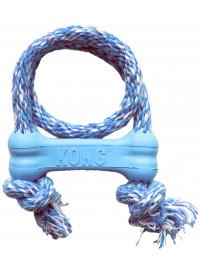 KONG Puppy Goodie Med Tau, Blå