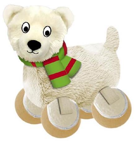 KONG Julete Polarbjørn, Stort utvalg forskjellige kosedyrleker til hund
