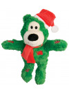 KONG Wild Knots julebjørn, Grønn