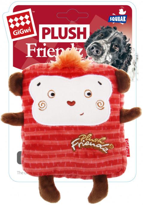 GiGwi Plush Friendz, Ape, Stort utvalg forskjellige kosedyrleker til hund