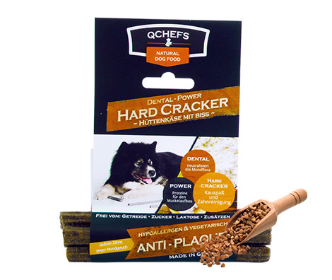 QCHEFS QCHEFS Power Cracker Harde Sticks, Tyggeben og Annen Tygg til Hund