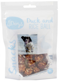 4Dogs Duck and Rice Ball
