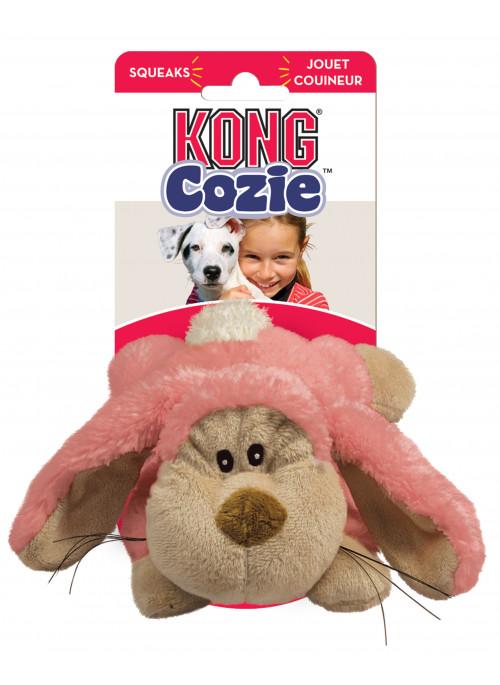 KONG Cozie Rosa Kanin, Pastell, Stort utvalg forskjellige kosedyrleker til hund