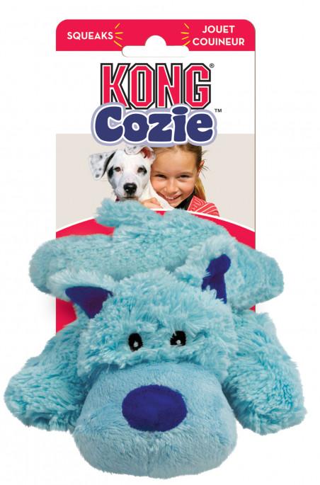 KONG Cozie Blå Hund, Stort utvalg forskjellige kosedyrleker til hund
