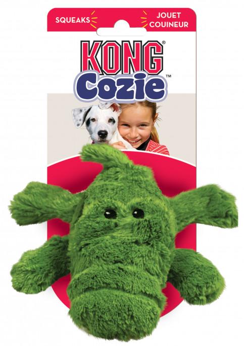 KONG Cozie Natural, Ali Aligator, Stort utvalg forskjellige kosedyrleker til hund
