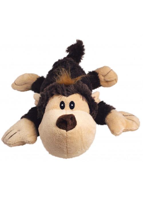 KONG Cozie Natural, Funky Monkey, Stort utvalg forskjellige kosedyrleker til hund