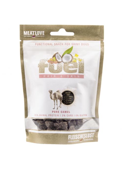 MeatLove Steakhouse Fuel Hair & Skin, Kamel, Stort utvalg Godbiter og Snacks til Hunder