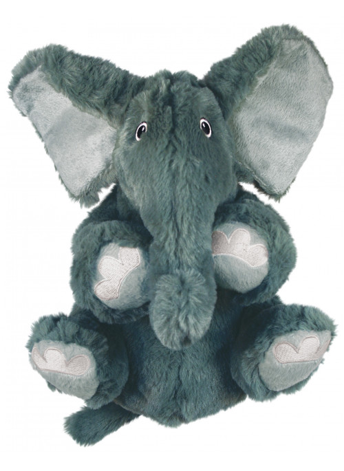 KONG Comfort Kiddos, Elefanten Ellie, Stort utvalg forskjellige kosedyrleker til hund