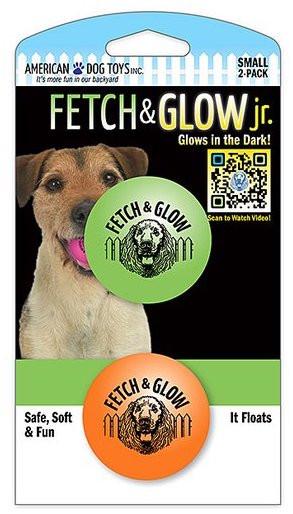 Fetch & glow Lysende Baller, Grønn + Oransje, Stort utvalg lekeballer til Hund
