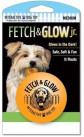 Fetch & glow Lysende Ball, Oransje