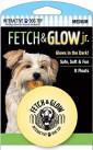 Fetch & glow Lysende Ball, Gul