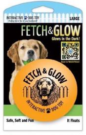 Fetch & glow Lysende Ball, Oransje