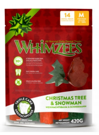 Whimzees Vegetar Juletygg - Limited Edition