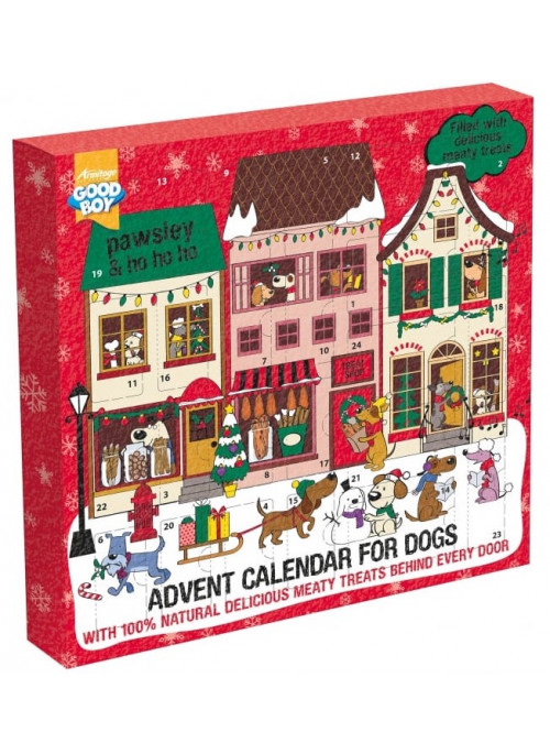 Good Boy Adventskalender, Stort utvalg Godbiter og Snacks til Hunder