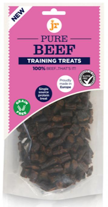 JR Products Pure Biff, Treningsgodbiter, Stort Utvalg Treningsgodbiter til Hund