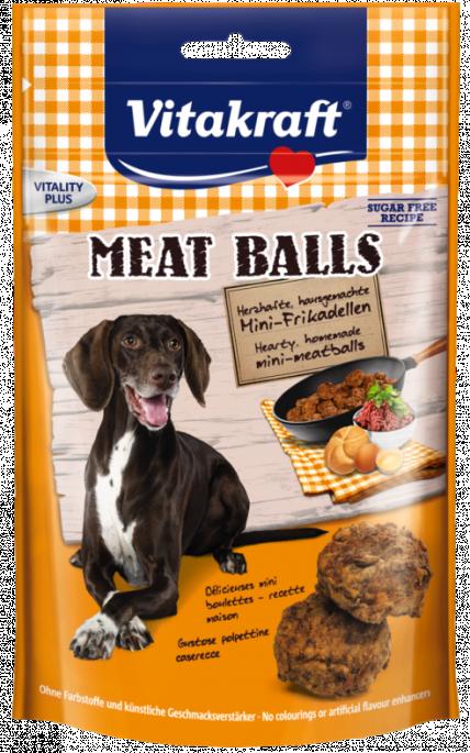 Vitakraft Meat balls, Stort utvalg Godbiter og Snacks til Hunder