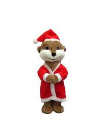 Good Boy Santa Meerkat
