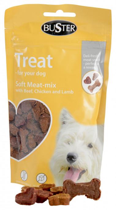 Buster Treningsgodbiter Soft Meat-Mix, Stort Utvalg Treningsgodbiter til Hund