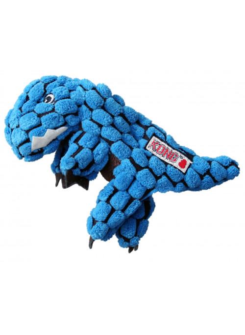 KONG Dynos T-Rex Blå, Stort utvalg forskjellige kosedyrleker til hund